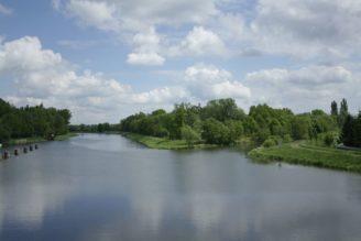 soutok Labe Chrudimka Pardubice