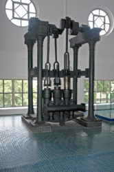 Muzeum PVK čerpací stroj z Klatov