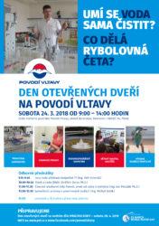 Světový den vody 2018 Povodí Vltavy laboratoře