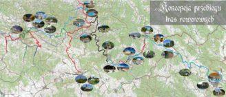 mapa cyklostezka Slovensko Polsko