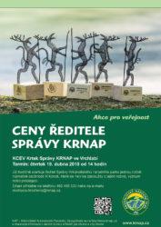 plakát ceny ředitele KRNAP