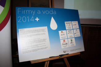 společenská odpovědnost šetření vodou VODA 2014