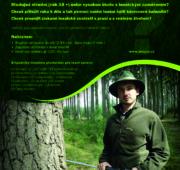 Lesy ČR adjunkt studenti