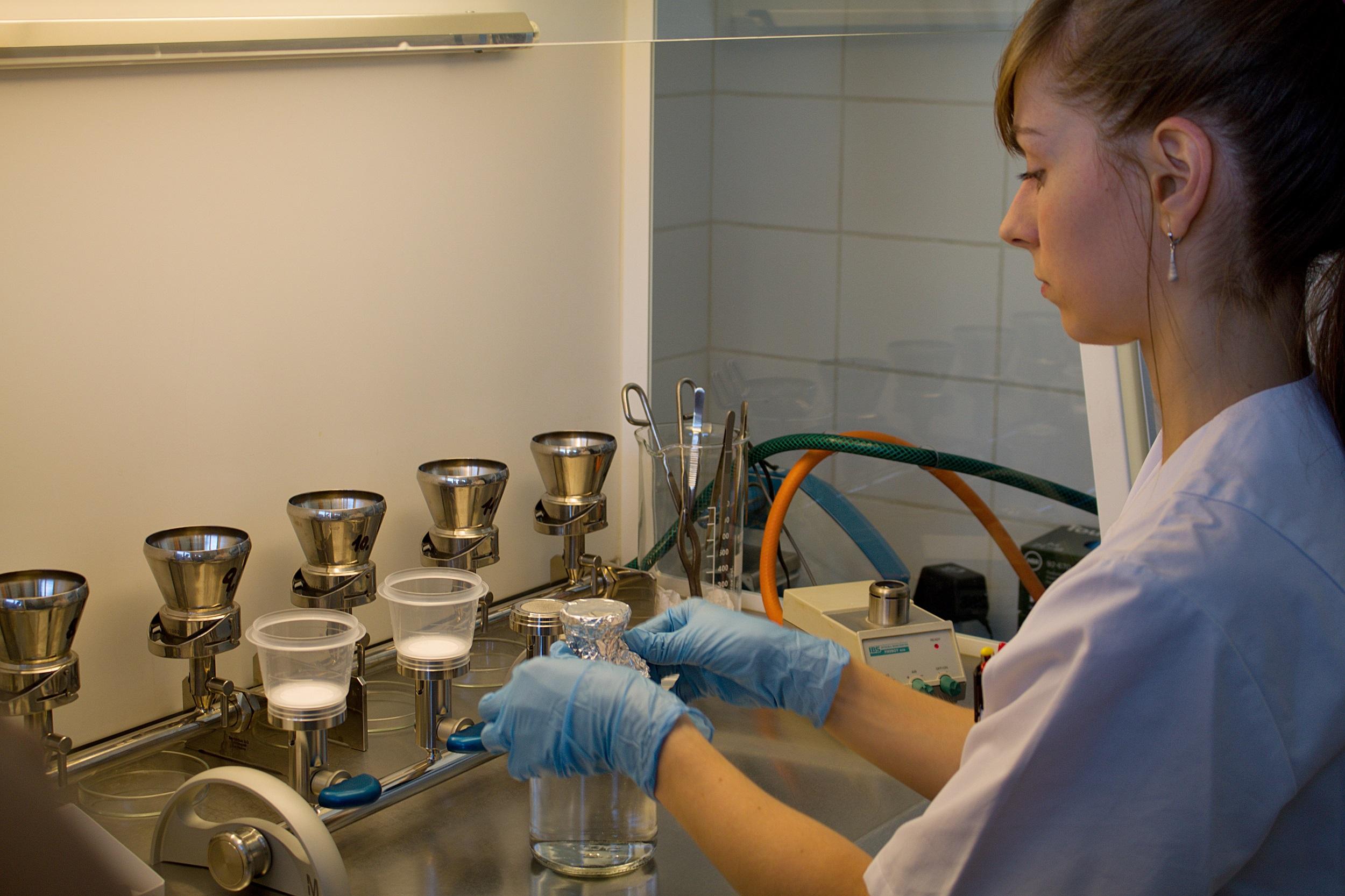 laboratoř PVK kontrola vody