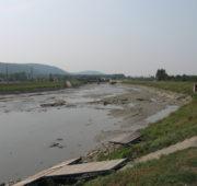 vypuštěná jezová zdrž Hranice Povodí Moravy
