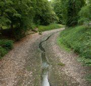 málo vody Kroměříž červen 2018