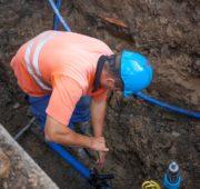 SmVaK - budování vodovodu